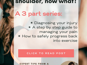 Getting rid of your shoulder pain