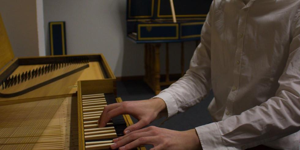 Jong talent concert - Jos Maters - Klavecimbel & orgel
