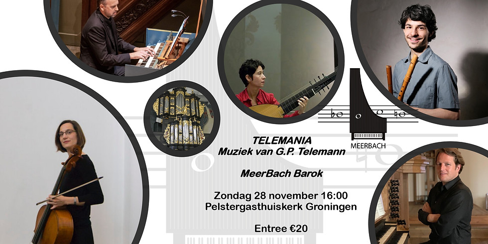 Telemania - Muziek van Georg Phillip Telemann