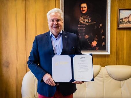 Új professor emeritusok a Széchenyi István Egyetemen