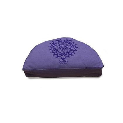 Meditationskissen Halbmond Anahata