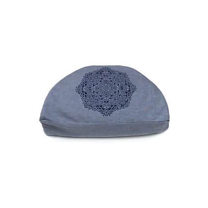 Meditationskissen Mandala Halbmond