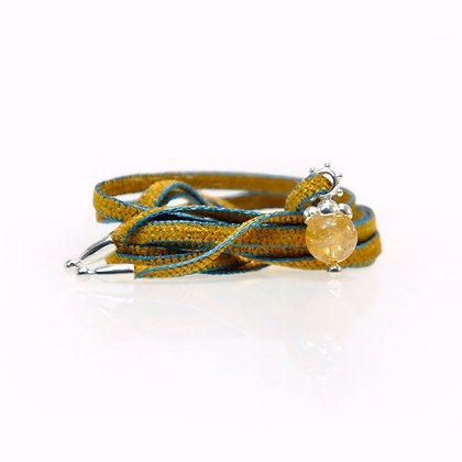 Halskette Chenilleband