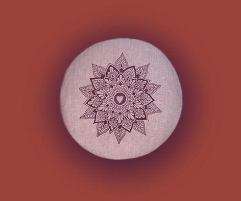 Meditationskissen rund