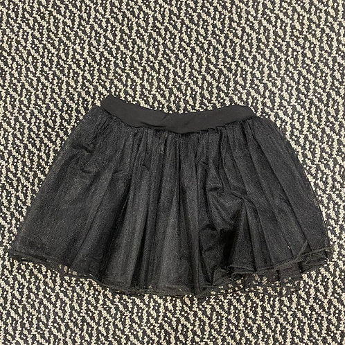 Black Skirt With Waistband