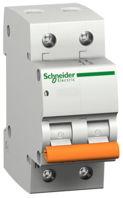 11214 Выключатель автомат. Один полюс+ нейтраль, 20A Schneider Electric