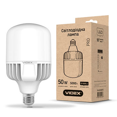 LED лампа VIDEX A118 50W E27 5000K 220V