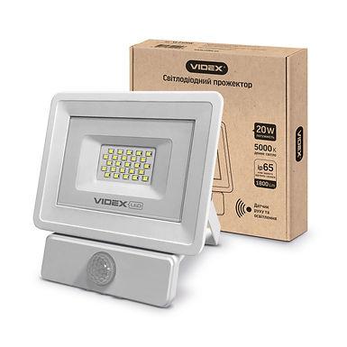 LED прожектор VIDEX 20W 5000K 220V (VL-Fe-205W-S) Сенсорный 20 шт