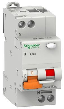11475 Авто.диф.выключатель 2п 40А/30mA Schneider Electric