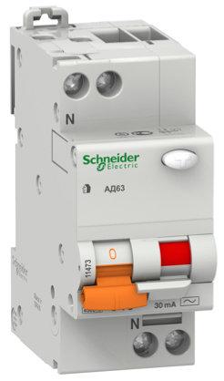 11474 Авто.диф.выключатель 2п 25А/30mA Schneider Electric