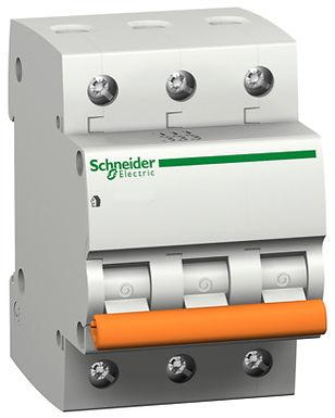 11222 Выключатель автомат. Трехполюсный, 10A Schneider Electric