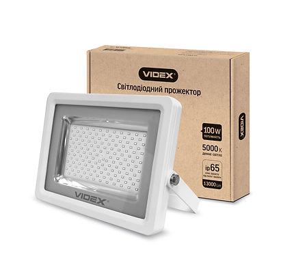 LED прожектор VIDEX 100W 5000K 220V White