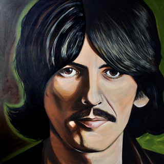 All Tings Must Pass - George Harrison portrait