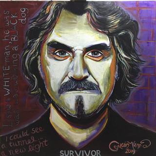 Survivor- Billy Connolly portrait