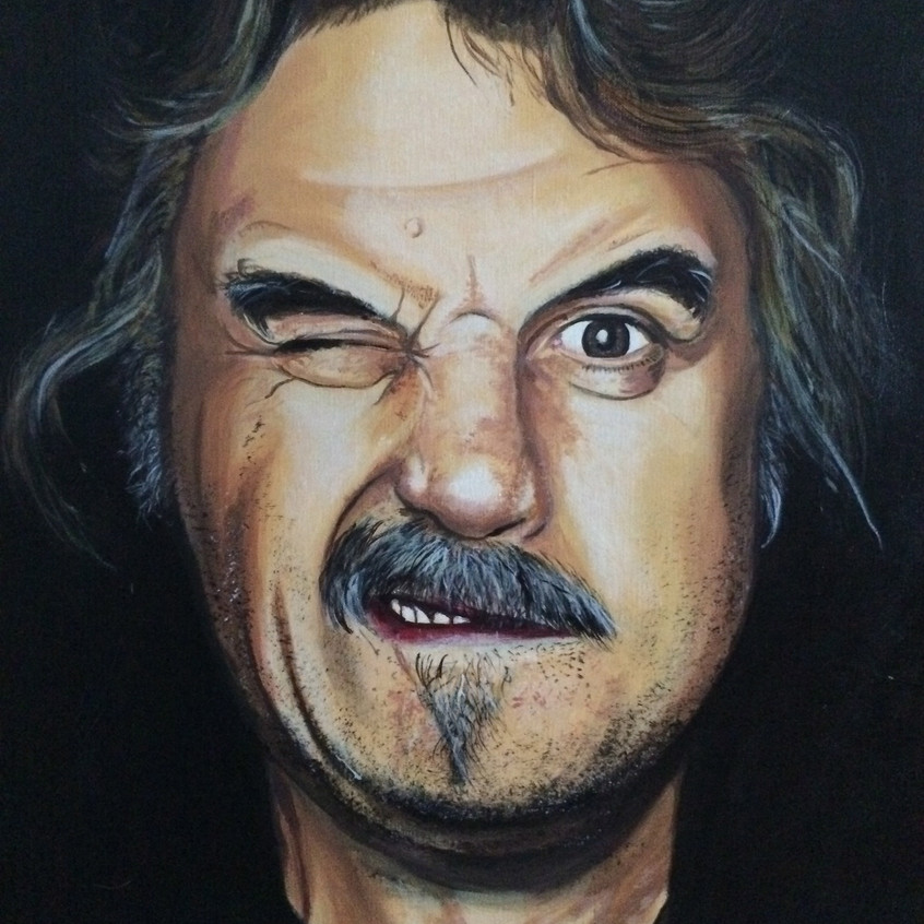 Billy Connolly portrait