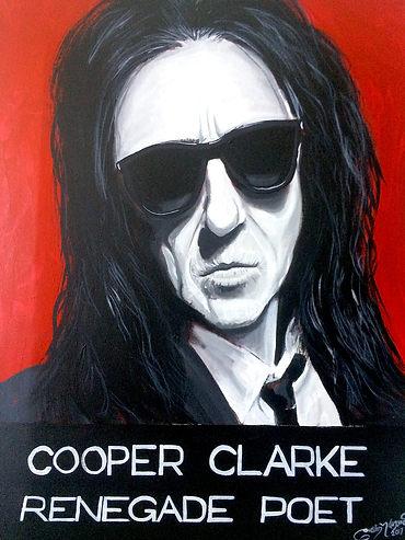 John Cooper Clark Original Portrait