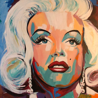 A Beautiful Mess - Marilyn Monroe portrait