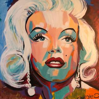 A Beautiful Mess - Marilyn Monroe portrait
