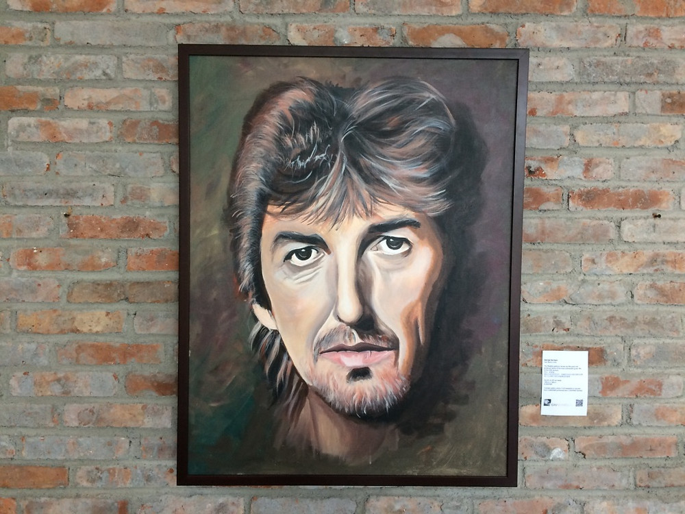 George Harrison portrait