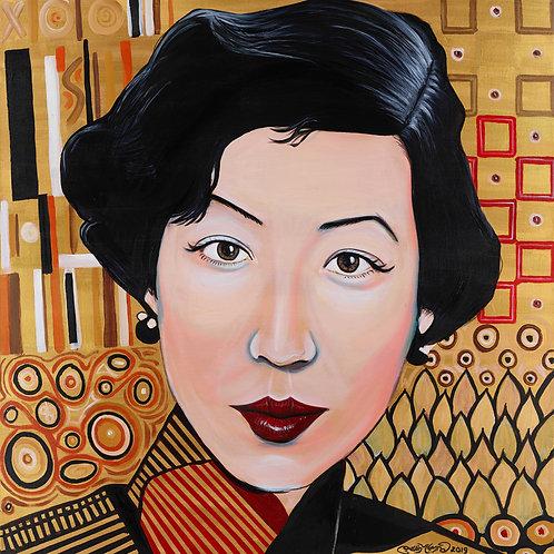 Zhang Eileen (100cm x 100cm)