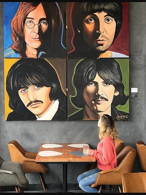Beatles White Album in Colour