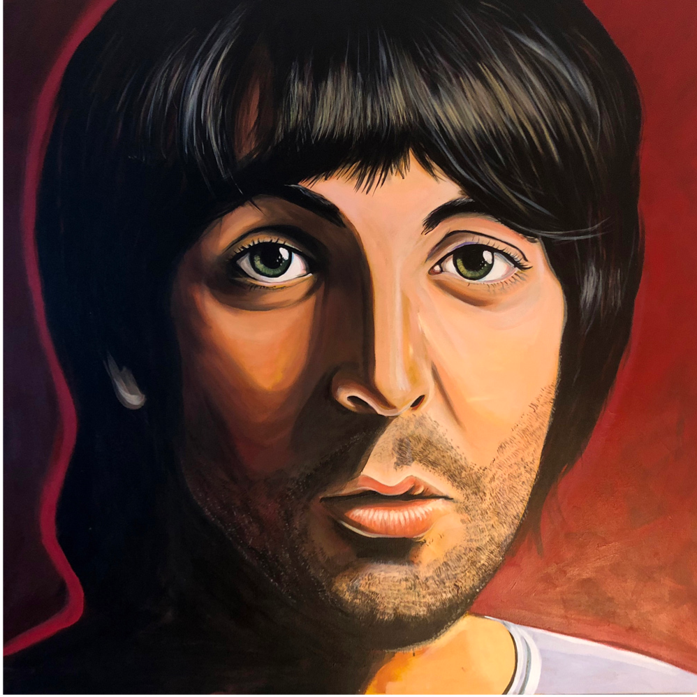 Paul McCartney original portrait