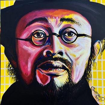 The Artist's Stare Original Portrait
