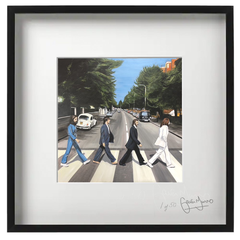 Abbey Road framed print