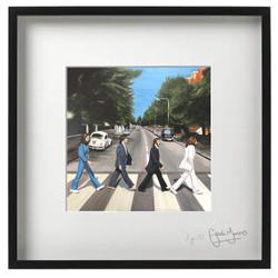 Abbey Road framed print