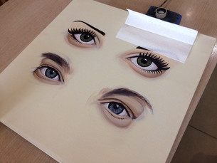 How to make eye's sparkle...