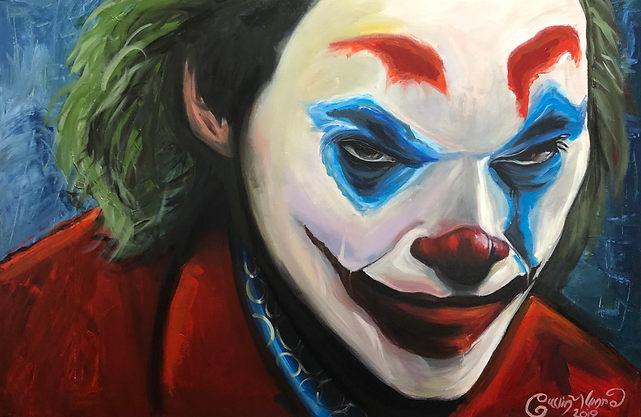 Joker Joquain Phoenix Original Portrait