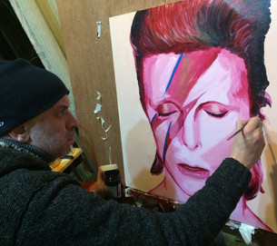 My Bowie Tribute- Selling for Charity