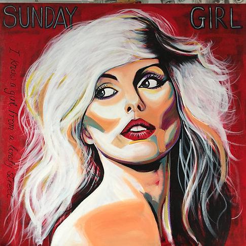 Sunday Girl (Blondie Original Portrait)