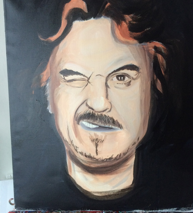 billy Connolly adding detail