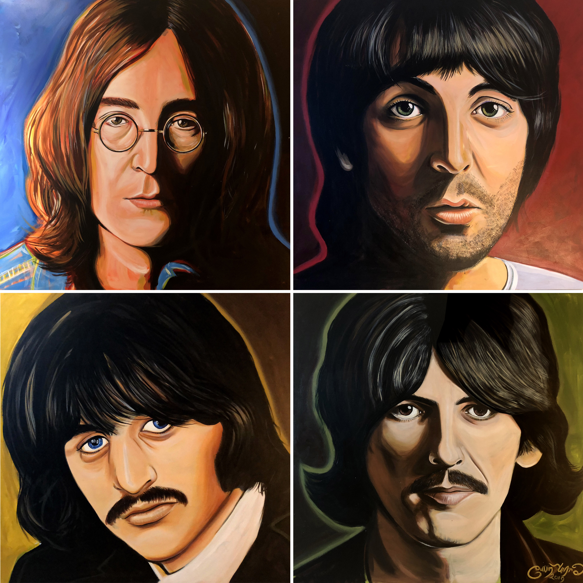 Beatles - White Album (in colour)