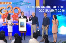G20 website header