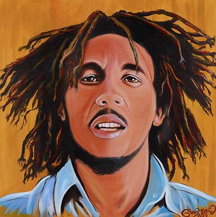 Bob Marley Original Portrait