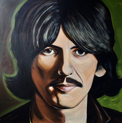 George Harrison original portrait