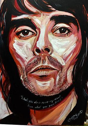 Ian Brown Original Portrait