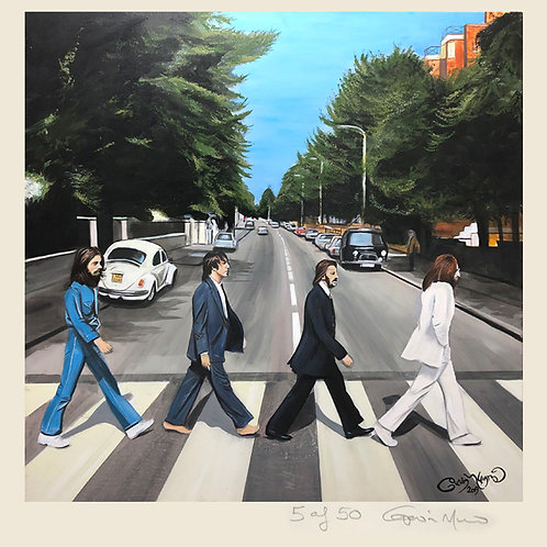 Abbey Road limited edition framed print
