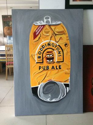 Why Paint a Huge Beer Can?