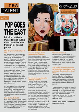 Thanks World Art Market Magazine!