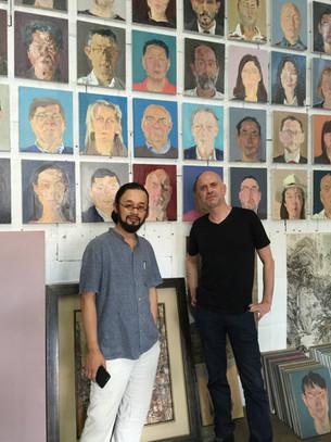 Tong Yan Runan and my Portrait