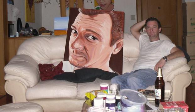 Colour painting    70cm x 90cm