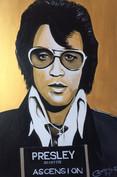 Elvis - 90x70cm £260 +shipping