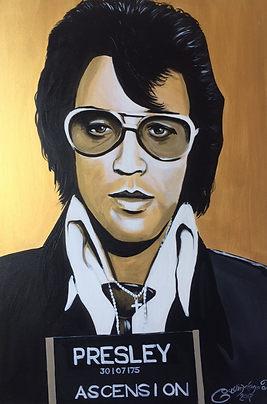 Elvis Original Portrait