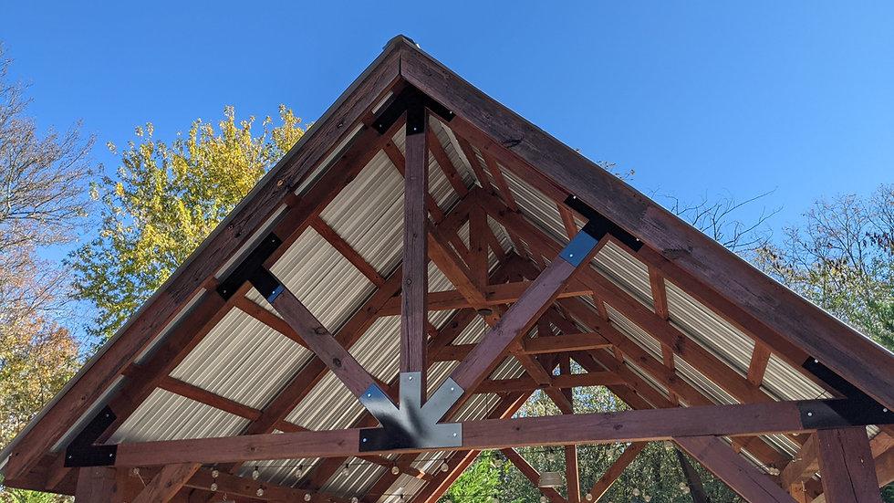 Timber Frame Post Brackets