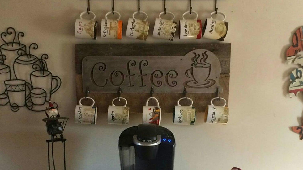 Coffee Signs and Hangers