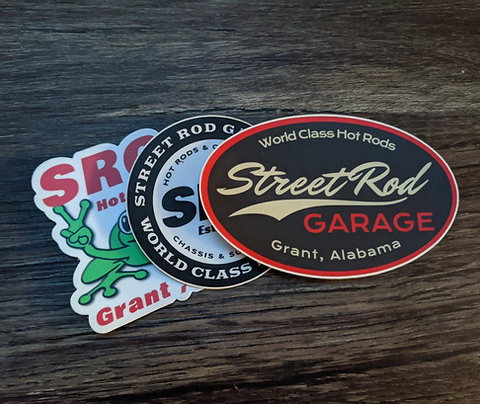 SRG Sticker Pack
