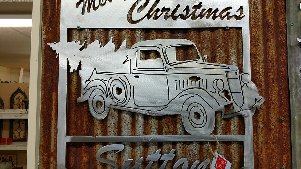 Classic Christmas Truck